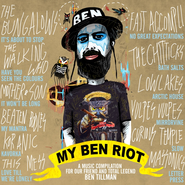 MY BEN RIOT COMPILATION ART