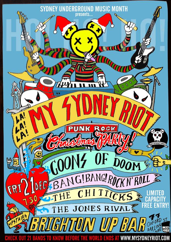 POSTER XMAS PARTY poster web1
