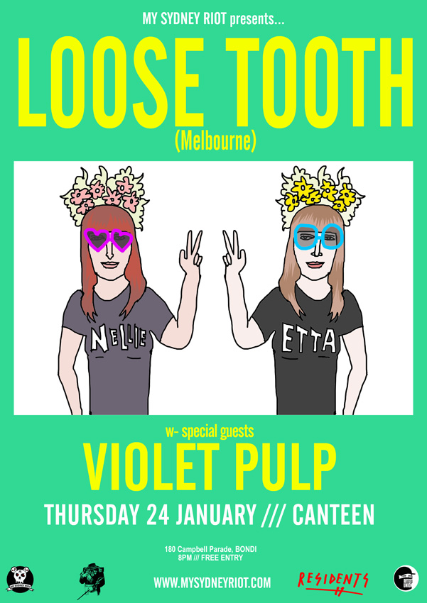 LOOSE TOOTH POSTER WEB