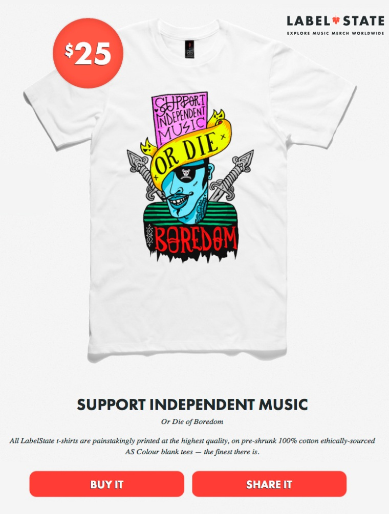 MY SYDNEY RIOT SUPPORT INDEPENDENT MUSIC