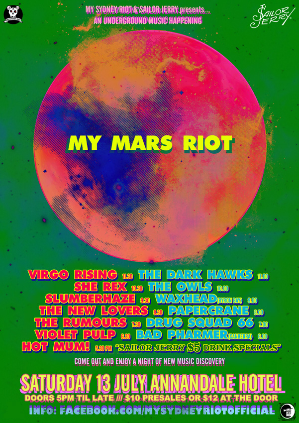 MY MARS RIOT 2 POSTER WEB