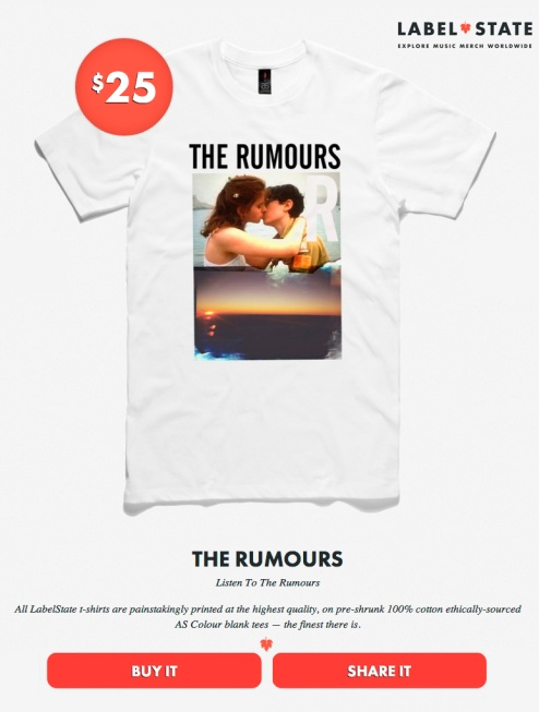 TEE THE RUMOURS 1
