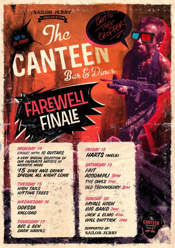 CANTEEN FINALE-PARTY