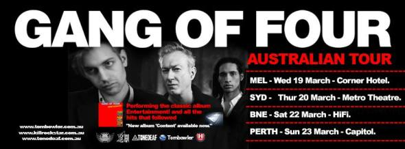 GANG OF FOUR HEADER