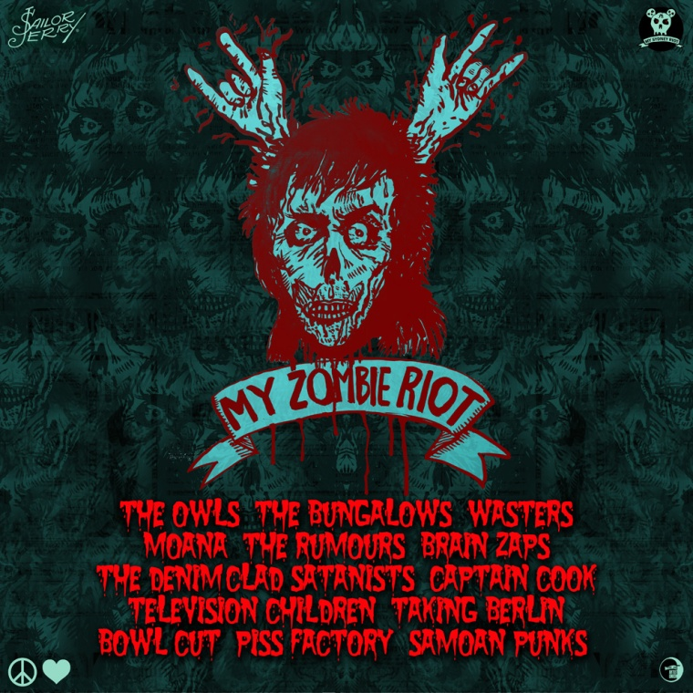 MY ZOMBIE RIOT COMPILATION web
