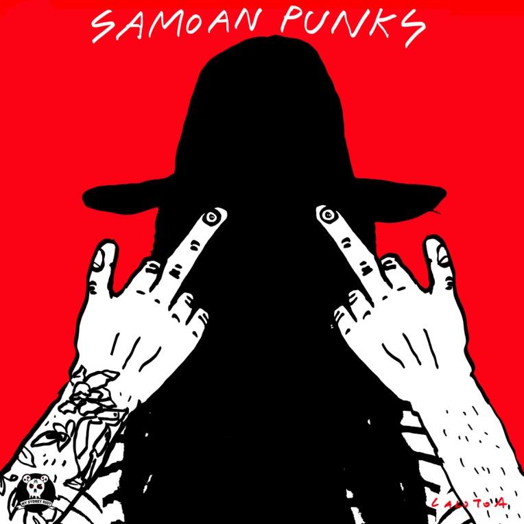 SAMOAN PUNKS BY LALOTOA